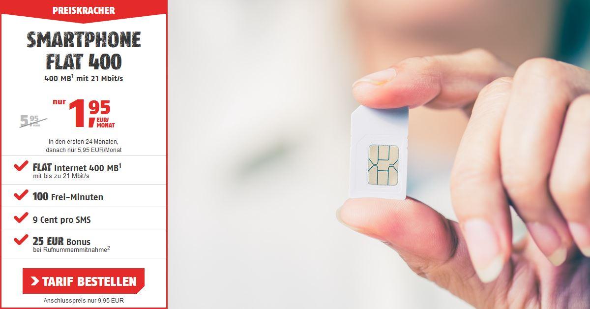 Handy-Tarifvergleich - Günstigster Handytarif im D-Netz