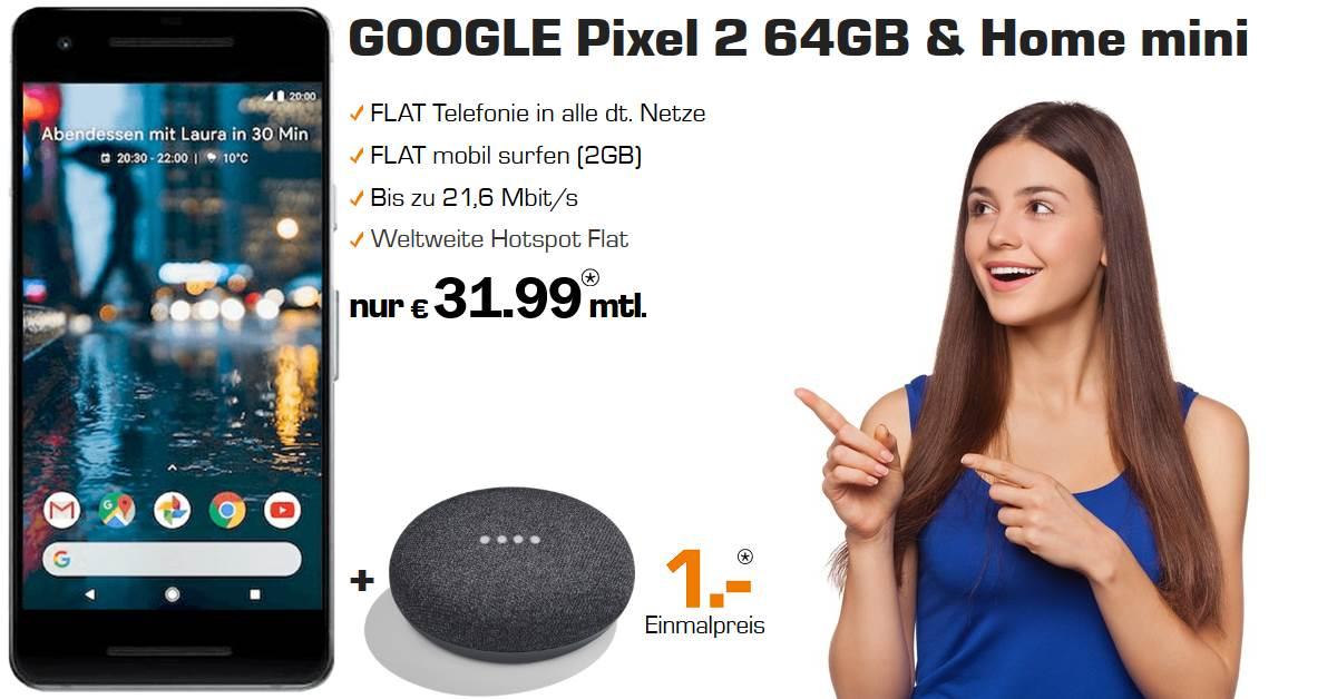 Google Pixel 2 Handyvertrag