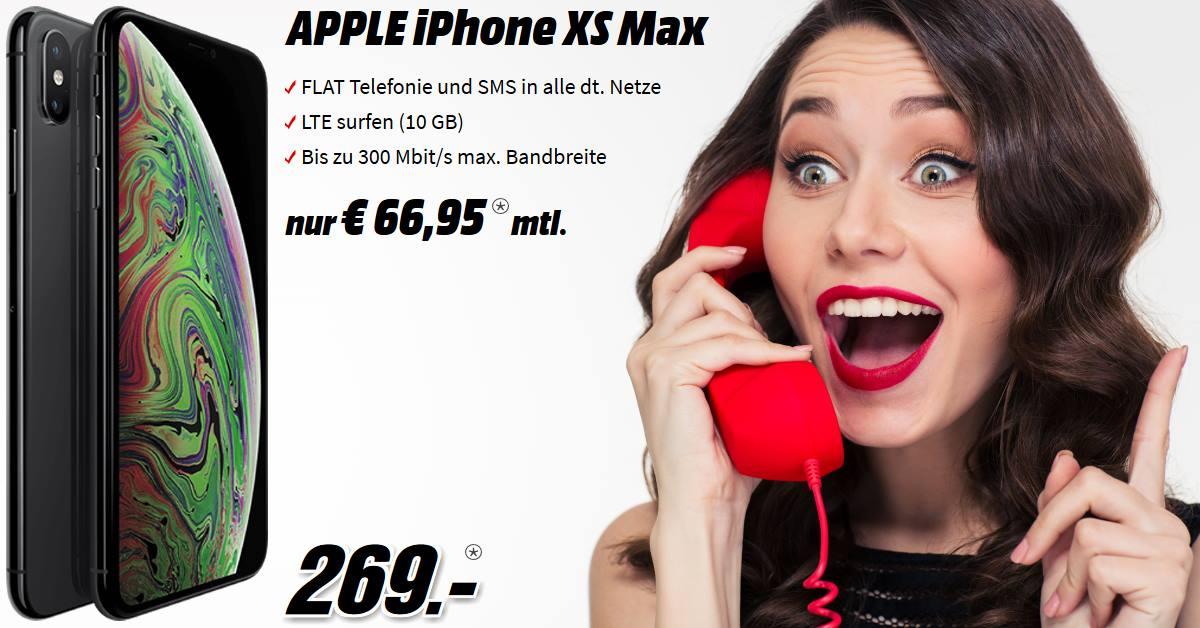 iPhone XS Max Handyvertrag mit Telekom MagentaMobil