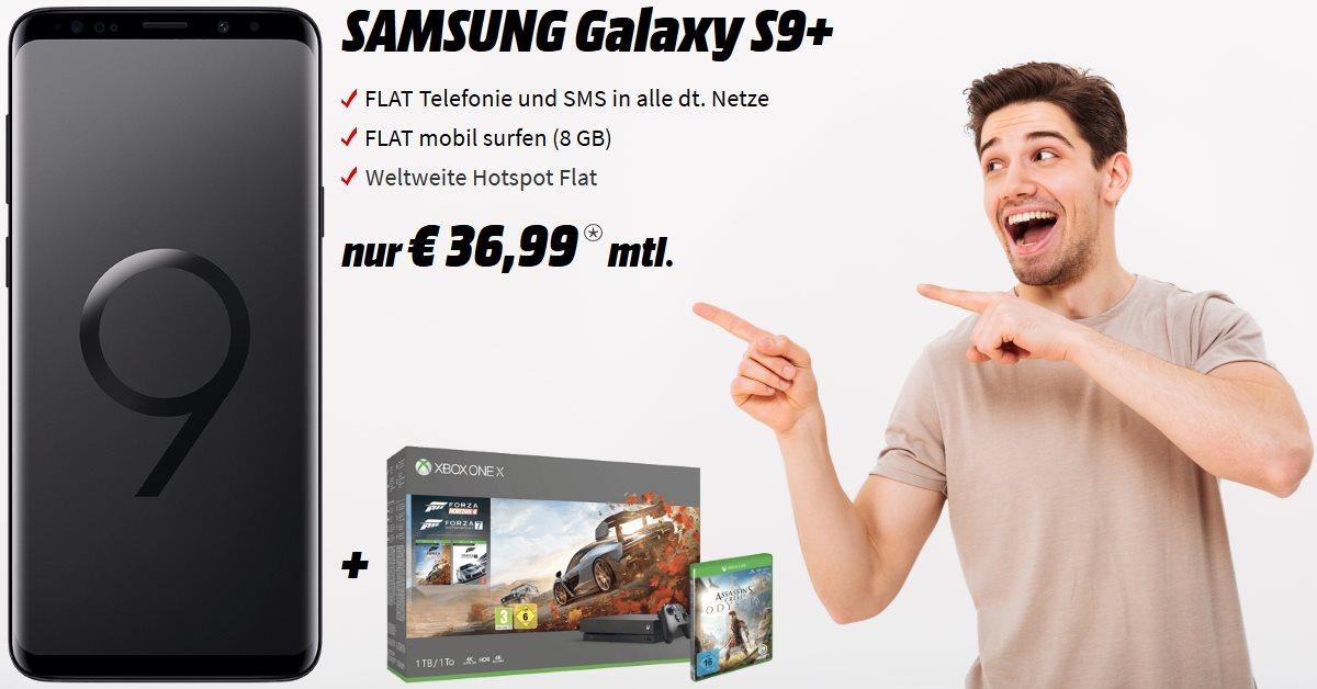 Galaxy S9 Plus Handyvertrag mit Xbox One X Bundle