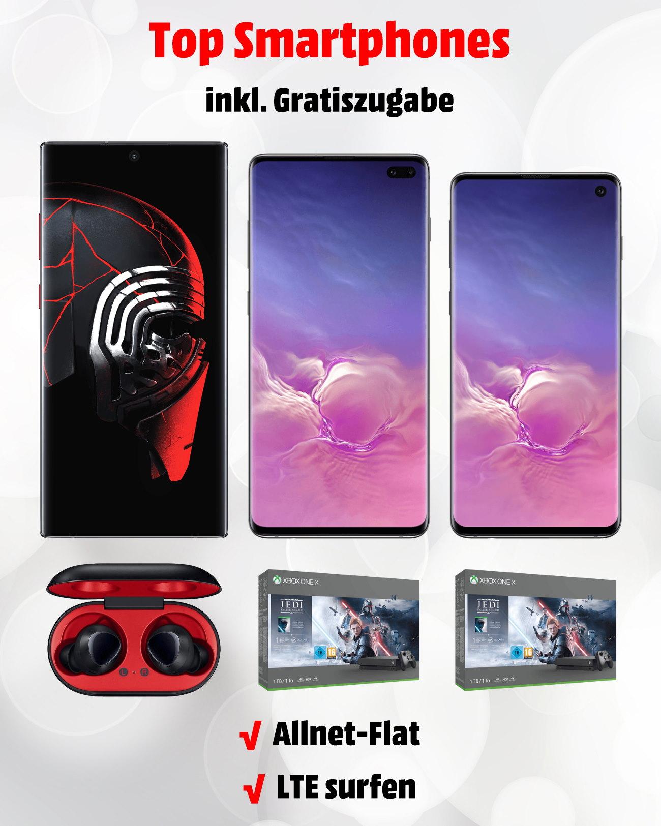 Galaxy Note 10+, S10+ und S10 Bundles zum Bestpreis